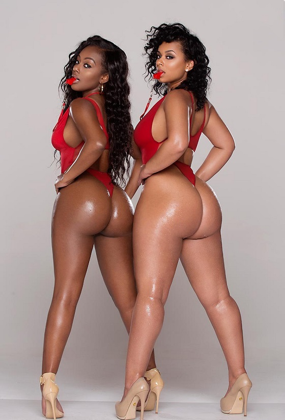 Nude thick black sisters