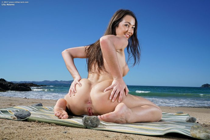 lily adams big ass by the sea