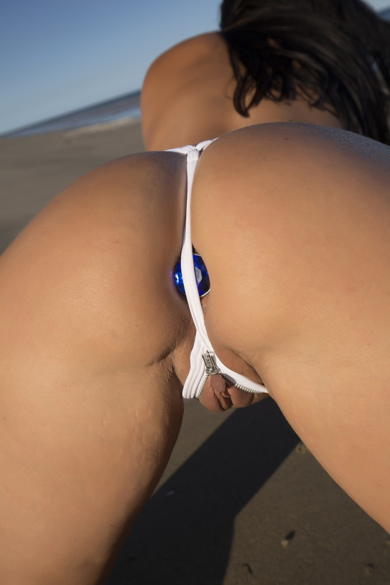 Butt Plug At The Beach