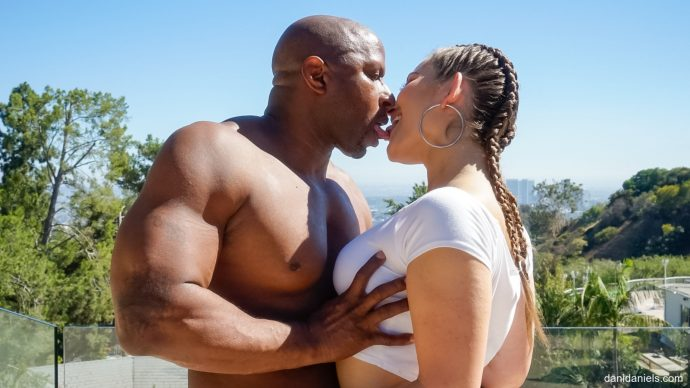 Dani Daniels Shows Her Big Ass And Takes Black Cock From Prince 11