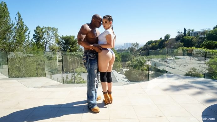 Dani Daniels Shows Her Big Ass And Takes Black Cock From Prince 9