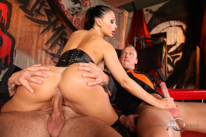 Aletta Ocean Hot Ass Dp Threesome 15