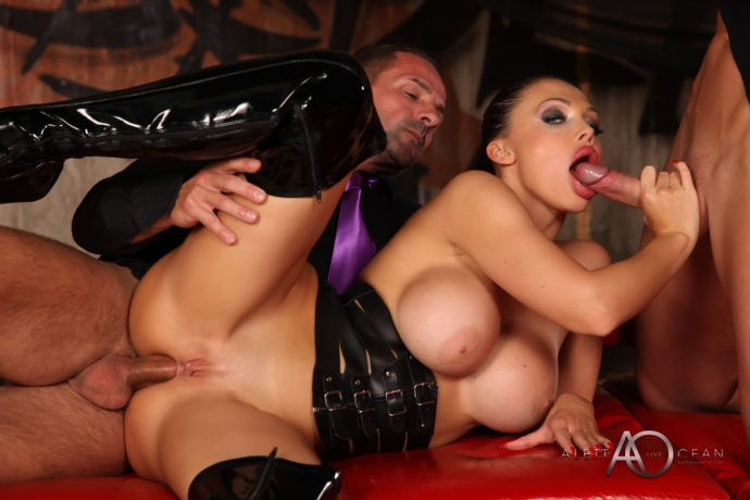 Aletta Ocean Hot Ass Dp Threesome 18