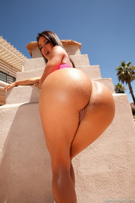 Franceska Jaimes big ass close up