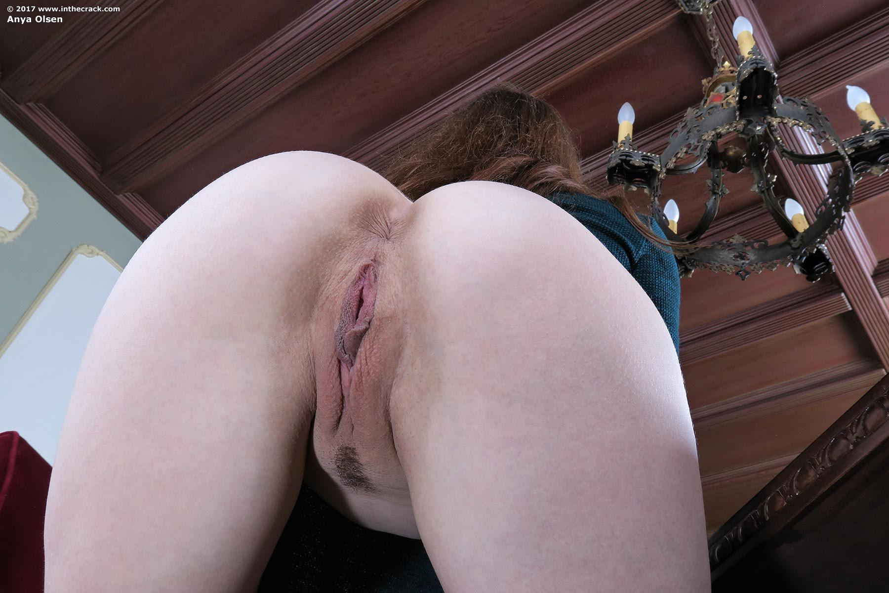 Tight bubble butt gets bareback fucked